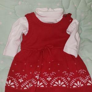 3m girls sweater dress with turtleneck